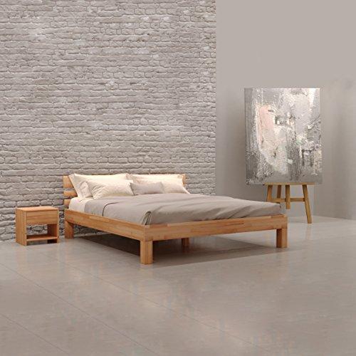 Hochwertiges Bett Aus Massivholz