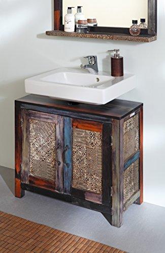 Designer Waschbeckenunterschrank Aus Massivholz