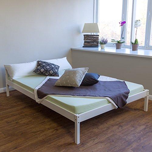 massivholz bettgestell. Black Bedroom Furniture Sets. Home Design Ideas