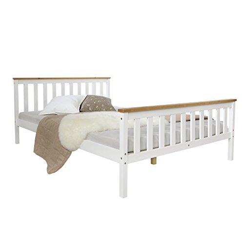 doppelbett aus massivholz. Black Bedroom Furniture Sets. Home Design Ideas
