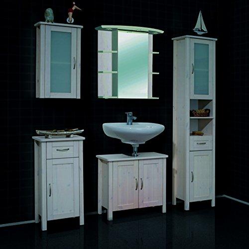massivholz badschrank g nstig kaufen. Black Bedroom Furniture Sets. Home Design Ideas