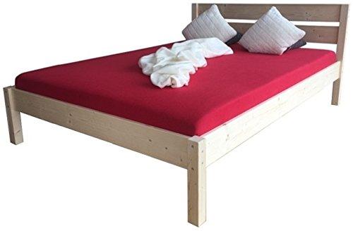 bett massivholz 180x200cm. Black Bedroom Furniture Sets. Home Design Ideas