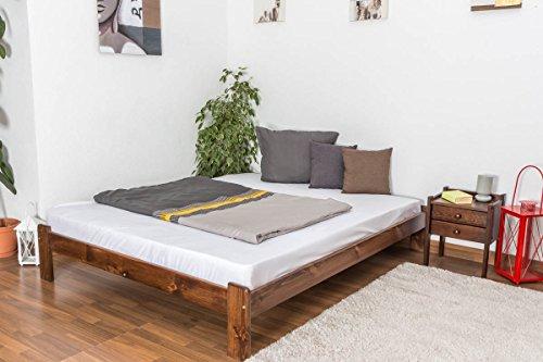 hochwertiges bett aus massivholz, Hause deko