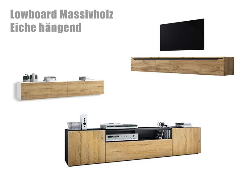 Lowboard Aus Massivholz