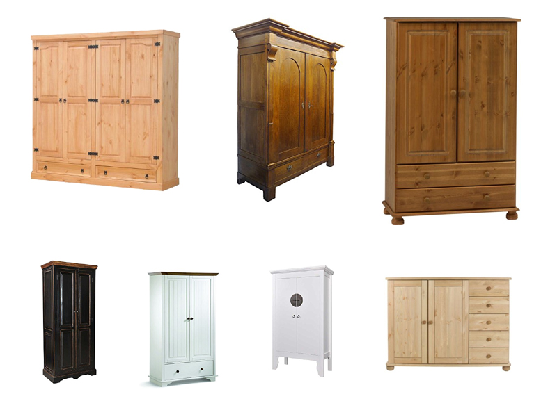 massiver w scheschrank massivholz. Black Bedroom Furniture Sets. Home Design Ideas