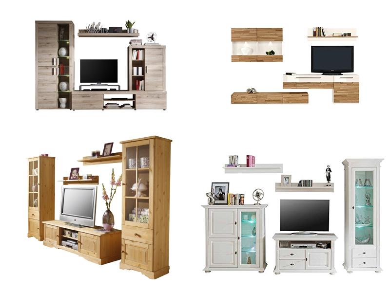 massivholz wohnwand inspiration ber haus design. Black Bedroom Furniture Sets. Home Design Ideas